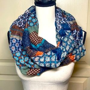 🌺4/25$🌺 Infinity Scarf Multicolored Boho Floral